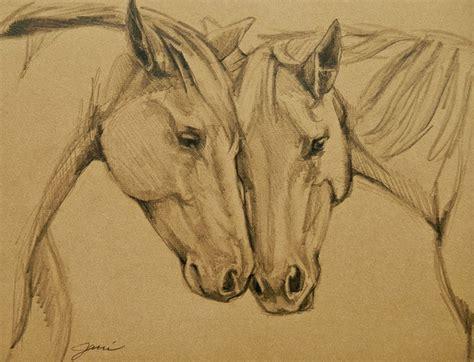 caballo a lapiz dibujos de animales pinturas cuadros marzo 2015