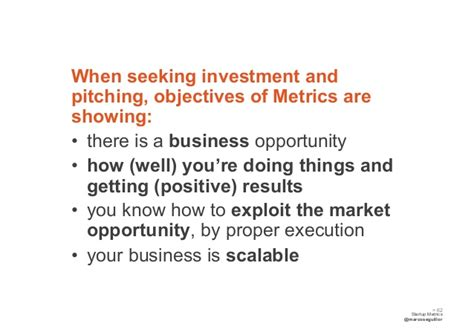 investors seeking small new business opportunities when seeking investment andpitching objectives