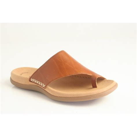 gabor sandals gabor gabor style quot lanzarote quot leather toe post slip on