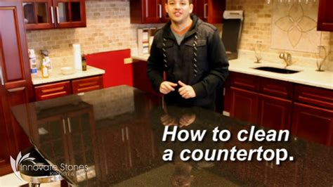 How Do I Clean Granite Countertops by Innovate Stones Inc Linden Nj How To Clean Your Granite Countertops
