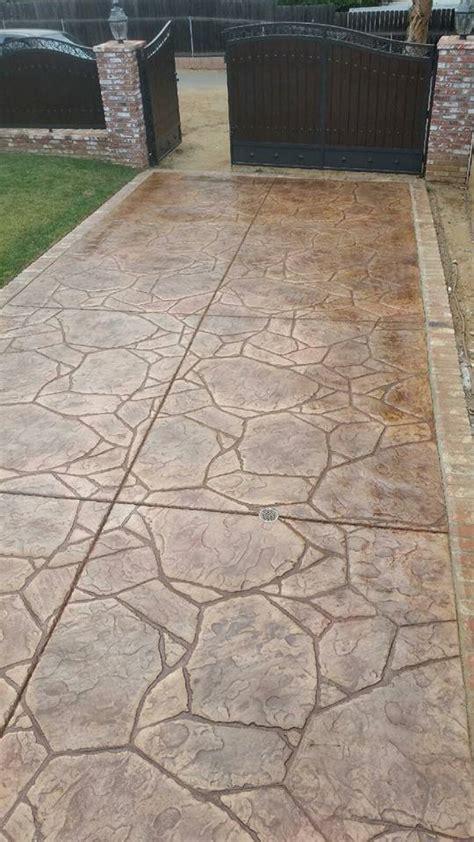 colored concrete contractor best concrete contractor santee decorative concrete