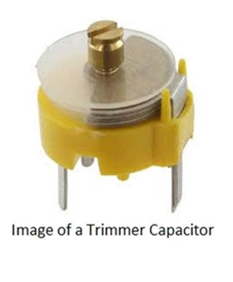 what are trimmer capacitors used for basic electronics variable capacitors