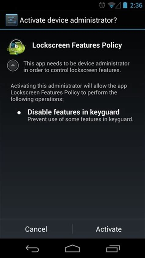 disable lock screen android how to disable widgets access on android 4 2 lock screen