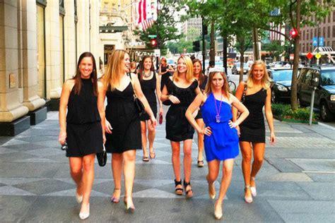 bachelorette party themes little black dress bachelorette party dos and don ts bridalguide