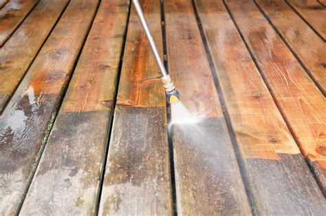 how to clean a patio with a pressure washer how to pressure wash a wood deck