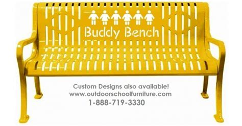 buddy bench for sale buddy bench from outdoorschoolfurniture com outdoor