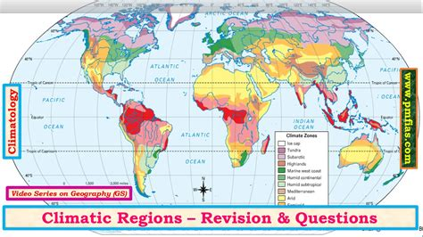 c33 climatic regions revision geography upsc ias