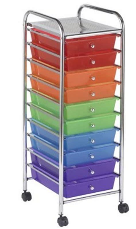 amazon organizer amazon 10 drawer mobile colorful organizer with wheels