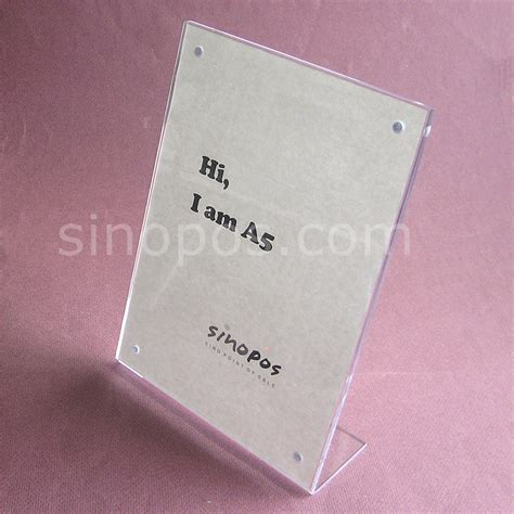 Acrylic Frame A4 buy wholesale acrylic photo stand from china