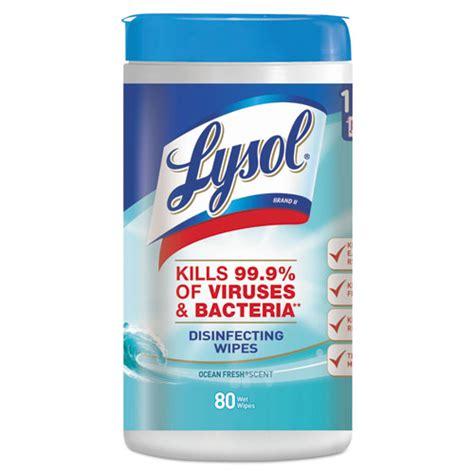 racct lysol brand disinfecting wipes zuma