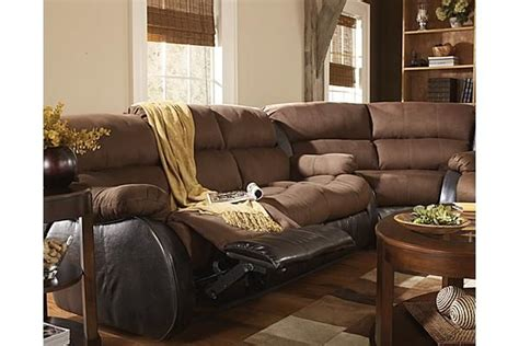 hobokin chocolate sectional the presley espresso sectional from ashley furniture