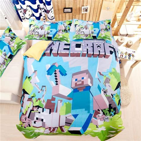 minecraft bedding target minecraft bed set for wish researchpaperhouse com