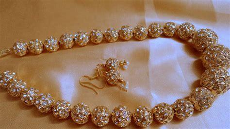 Decorative Beads For Vases Buy Golden Beads Jaipuri Mala Online