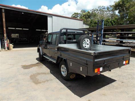landcruiser dual cab ute trays metalink