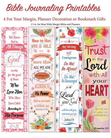 printable bible stickers bible journal or planner printables for wide margins