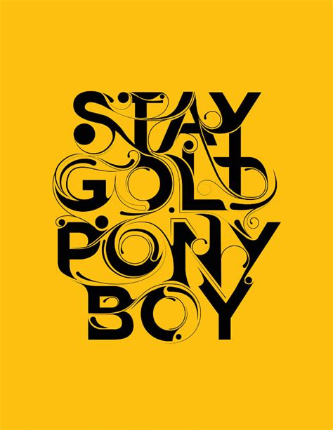 stay gold stay gold ly design