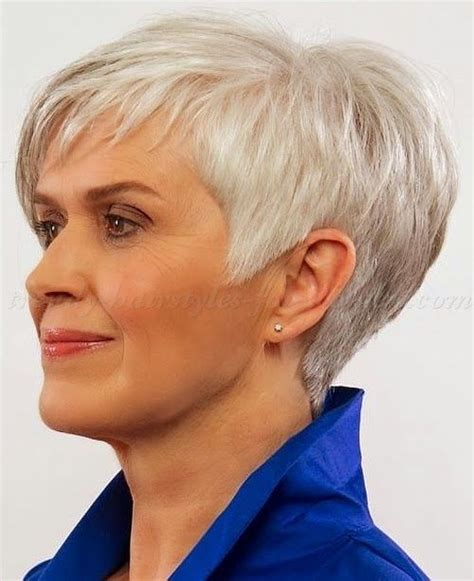 haircuts for women over 50 gray short hairstyles for women over 50 gray hair short