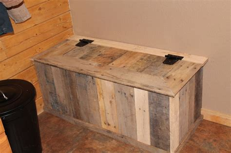 mud bench with storage mud room storage bench out of pallets home pinterest