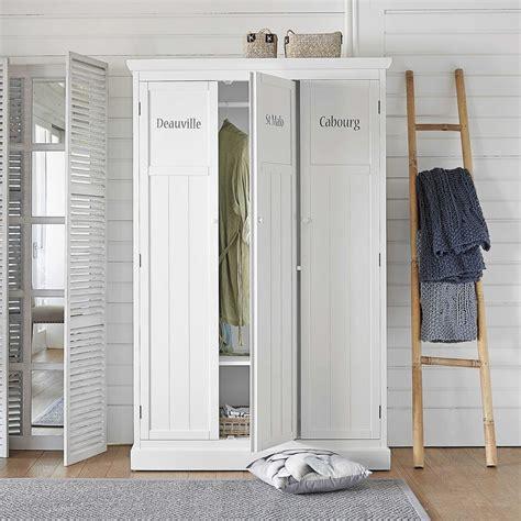 guardaroba maison du monde guardaroba bianco in legno l 125 cm newport maisons du monde