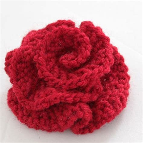 how to knit crochet flowers best 25 knit flowers ideas on this the end