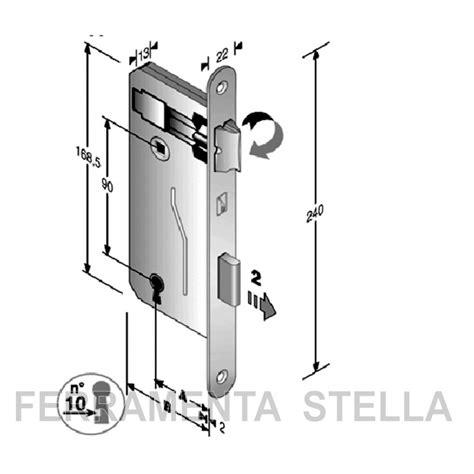 serratura porta interna serratura patent porta porte interna in legno bonaiti