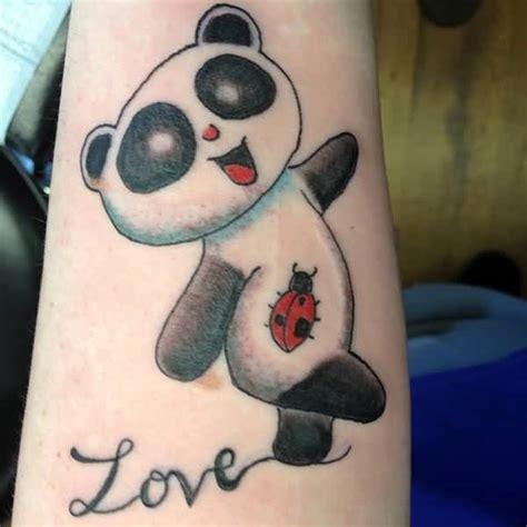 panda tattoo love panda tattoos askideas com
