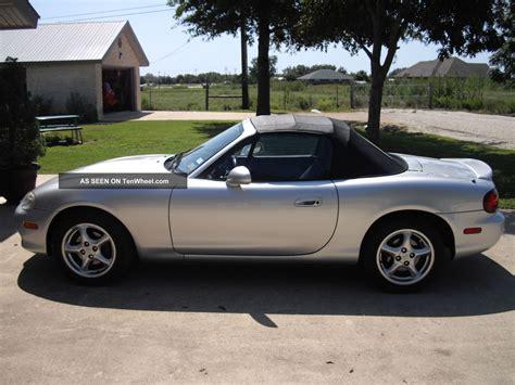 2001 mazda miata 2001 mazda miata mx5 convertible 2 door 1 8l l k
