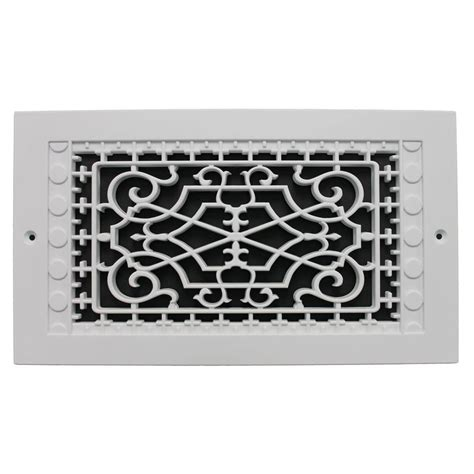 decorative wall return air grille smi ventilation products wall mount 6 in x 12