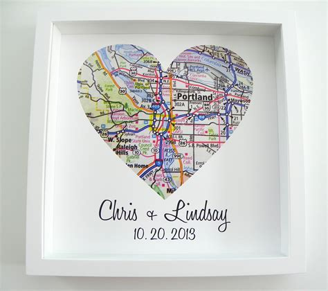 etsy gifts wedding gift map framed print by definedesign11 on