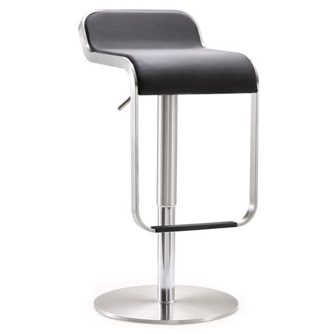 Stool Modern by Modern Stool Modern Stools Narbonne Black Adjustable