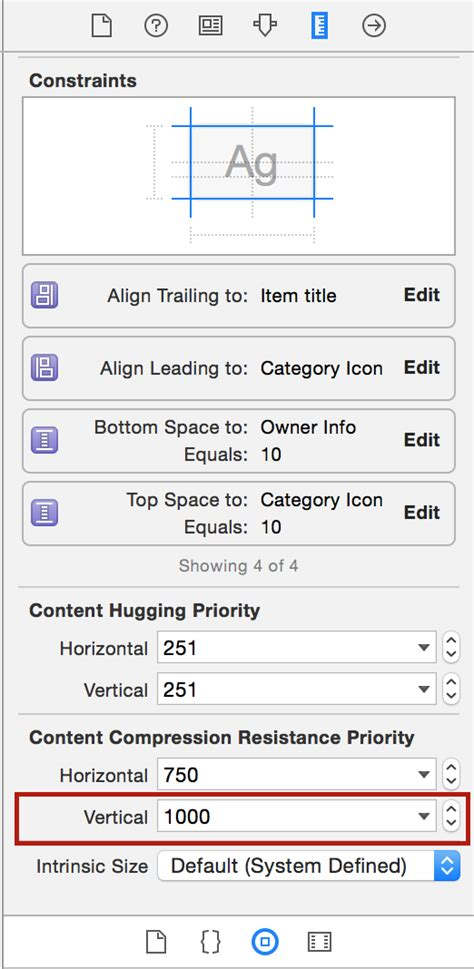 autolayout label height ios autolayout setting uilabel height to zero stack