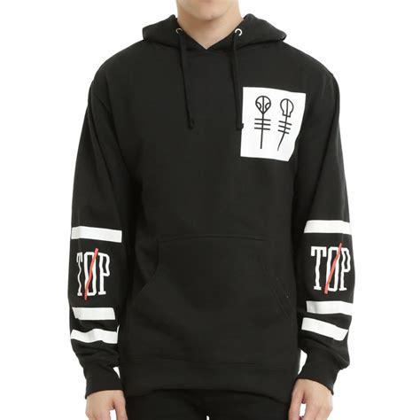 Hoodie Zipper Twenty One Pilots Salsabila Cloth 2016 autumn winter fashion new twenty one pilots big logo hooded streetwear hip hop