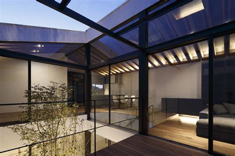 house patio gallery of patio house apollo architects associates 6