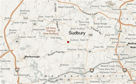 sudbury location guide