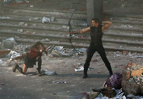 quicksilver film ita avengers age of ultron scene caught on camera ny