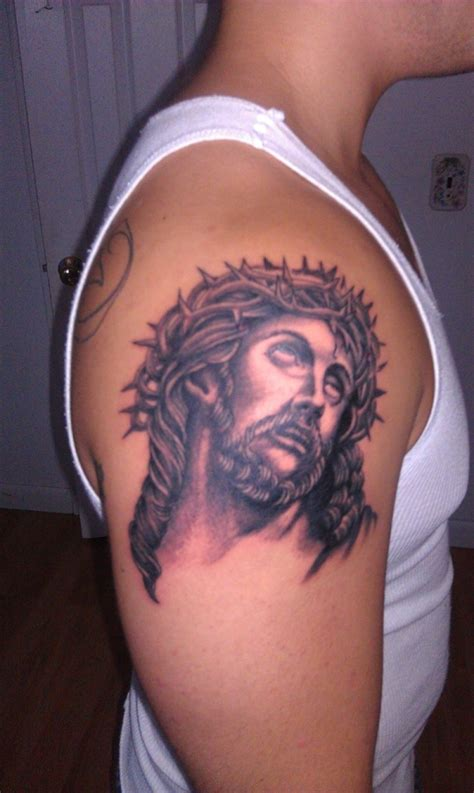 tattoo of jesus lyrics 30 cool arm tattoos for men