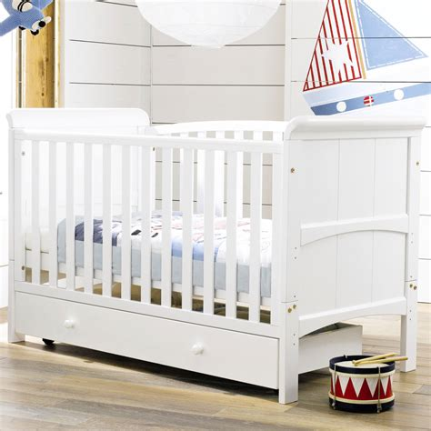 Crib Converts To Bed Tuscany 3 In 1 Cot Bed Nursery Baby Crib Converts To Junior Day Bed White