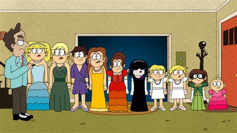 Meuble D Entrée étroit by Image Loud Family In Costumes Jpg The Loud House