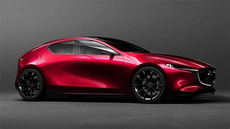 mazda 3 sport coupe mazda 3 2019 previewed by concept in tokyo car news