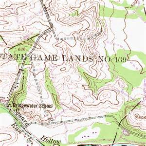 Pa State Game Lands Map by State Game Lands Number 169 Pa