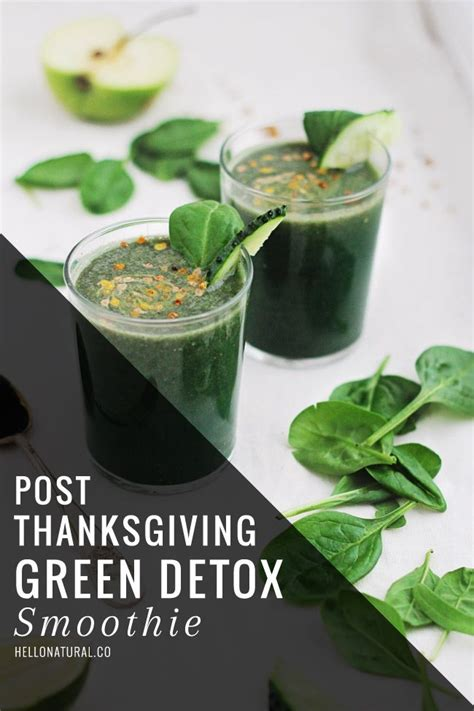 Healthy Green Detox Smoothie by Best 25 Green Detox Smoothie Ideas On Green