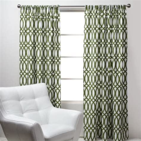 modern pattern curtains geo panels green modern curtains by z gallerie