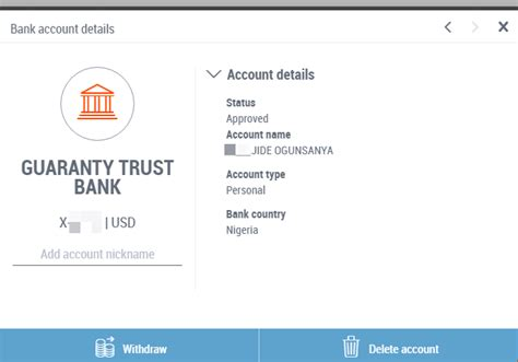 how to add your local bank account in payoneer for money transfer ogbongeblog