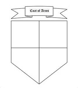Shield Psd Template by Coat Of Arms Template 12 In Pdf Psd Eps