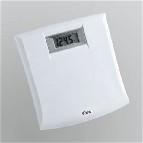 kmart bathroom scales conair weightwatchers white compact precision digital