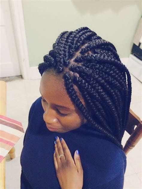 thick box braid hairstyles best 25 thick box braids ideas on pinterest box braids