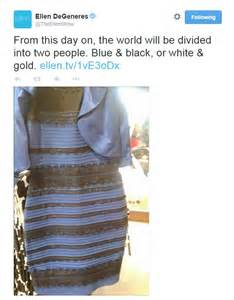 color of the dress the dress that divided the internet is blue and black