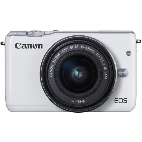 Cashback Canon Eos M10 M 10 15 45 Kit Datascript canon eos m10 compact system cameras ef m 15 45mm lens white compact syste