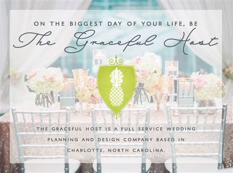 Wedding Planner Nc by Nc Wedding Planner And Designer The Graceful Host