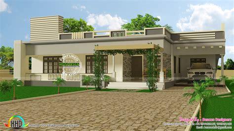 wide flat roof 3 bedroom home design kerala home design architecture house plans november 2016 kerala home design and floor plans
